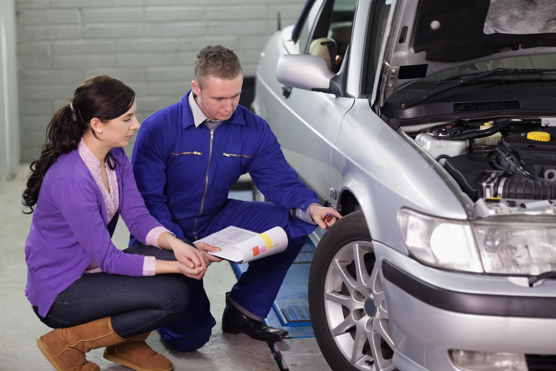 This is a picture of a San Antonio's best mobile mechanic services.